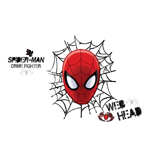 roommates-ultimate-spider-man-web-tete-sticker-mural-repositionnable-marvel