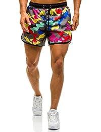 BOLF – Shorts de bain – Pantalons courts – Short – Jogging – Motif – Homme [7G7]