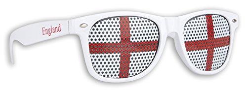 WM Fanbrille - England - Sonnenbrille - Fan Artikel