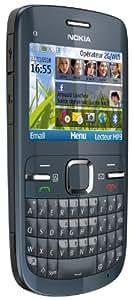Nokia C3-00 Téléphone Portable GSM Bluetooth Gris