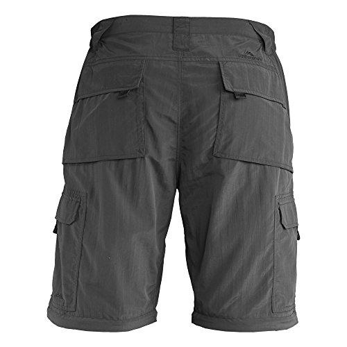 Kathmandu Barga Zip Off Cargo Hose für Herren Schwarz