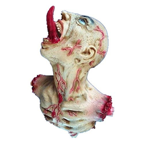 LLY Halloween Dekoration Haunted House Horror Arrangement Requisiten Hängende Geister Geister und Geister Latex Filme und Requisiten Scary (Scary Kostüm Aus Filmen)