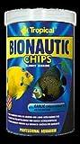 Tropical Bionautic Chips Futterchips für mittelgroße und große Meerwasserfische, 1er Pack (1 x 250 ml)