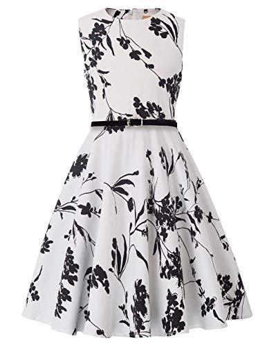 zessin Blumen Kleid 10-11 Jahre KK250-25 ()