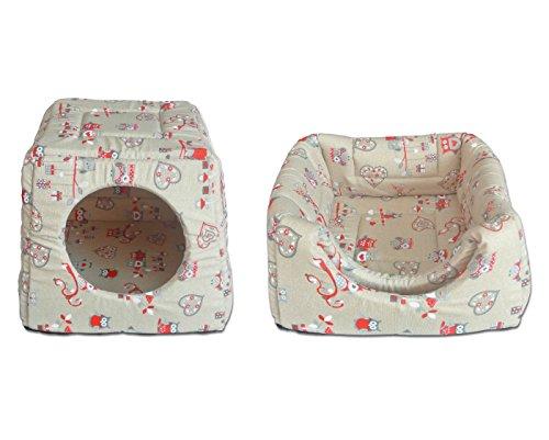 Baldiflex Materassino Cuccia Letto Cuscino da Interno Morbida per Cane e Gatto Anacleto 42x42 cm