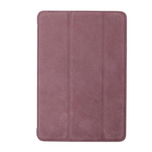 Melkco APMNRELCSC1PECV Slimme Cover Type Premium Leder Case für Apple iPad Mini Retina Classic Vintage violett