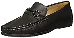 Arrow Mens Black Loafers and Moccasins - 9 UK/India (43 EU)