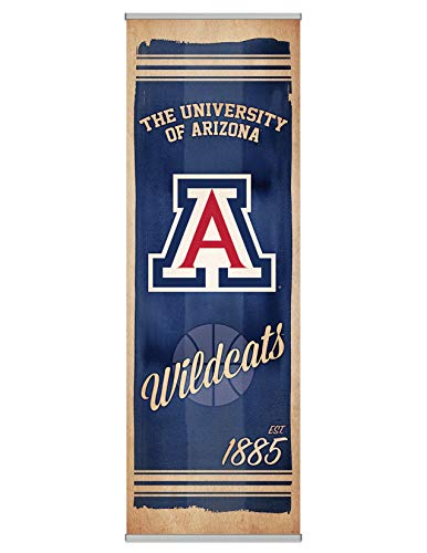 NCAA Fanpanel Modern 72 Inches Wide by 24 Inches Tall Arizona Wildcats ()
