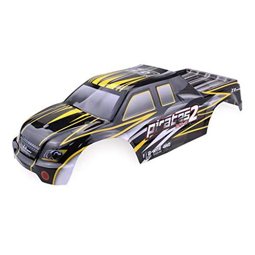 Bascar Car Body Cover Shell Teil für ZD-Racing 9116 08427 1/8 Offroad Buggy RC Auto Auto Karosserie Auto Cover Autoschutzhülle RC Auto Ersatzteil Geländewagen Ersatzteile Zubehör