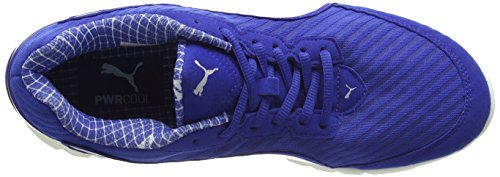 Puma Ultimate Ignite Pwrcool, Chaussures de Running Compétition Mixte Adulte Bleu (Surf The Web/Puma Silver)