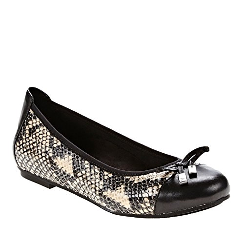 Vionic Womens 359 Minna Leather Shoes Serpent
