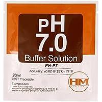 Solución de calibración en sobre HM Digital pH 7.0 20ml (PH-P7)