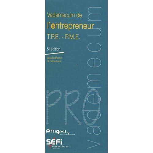Vademecum de l'entrepreneur TPE-PME