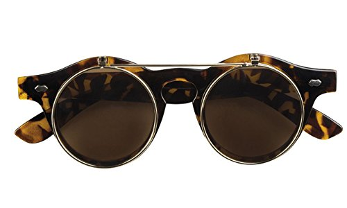Boland 02599 Brille Vintage Flip-up, One Size (Halloween Damen Ideen Make-up)