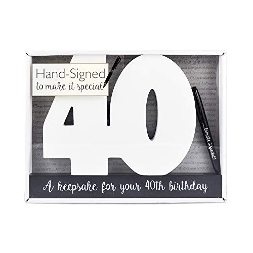 40. Geburtstag, besonderer Anlass, Gästebuch, 40. Geburtstagsgeschenk, 40. Party