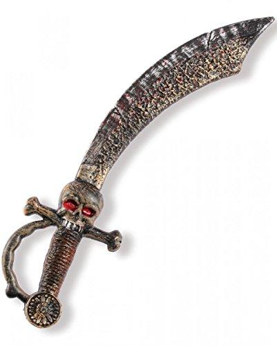 Antiker Piraten Krummsäbel 45cm für Fasching & - Horror Halloween Shop