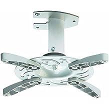 Soporte de techo para proyector en blanco inclinable 30° girable 360° para Epson EB-1760W
