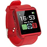 Phonewatch For HTC Desire 600 Dual Sim U8 Bluetooth Smart Watch / Wrist Watch / Wearable Watch With Sim Card Support For High Quality Calling | Facebook And WhatsApp | Video Recording | Phone Book | All Functions Of Smartphones | Smartwatch Phone With Cam