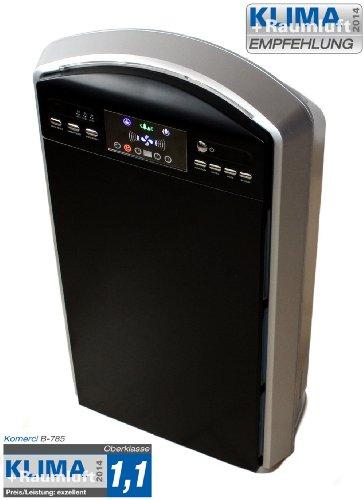 HEPA Luftreiniger B-785 mit Luftsensor, Ionisator, Ozon & Schlafzimmer-Funktion Ion Pro Air Purifier
