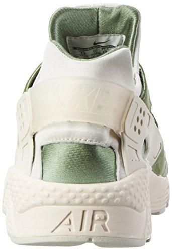 Nike  Air Huarache Run PRM, Chaussures de running homme Vert (Treeline/Light Bone-Bamboo)