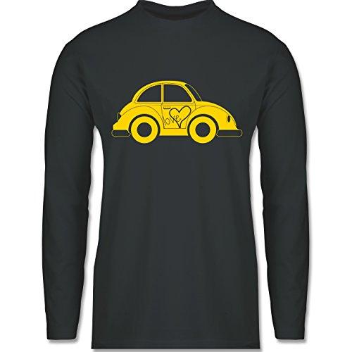 Autos - Liebes Beetle Auto - Longsleeve / langärmeliges T-Shirt für Herren Anthrazit