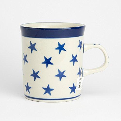 Polish Pottery Mini Mug Morning Star : 7.5cm H X 7cm D