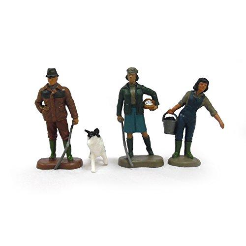 TOMY Britains Bauernfamilie - detailgetreue Spielfiguren aus Kunststoff - Bauernhofset zum Preisvergleich