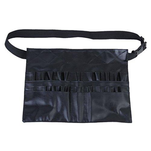 TOOGOO(R) cosmetiques applicateurs Outils Waist Pack de maquillage avec l'artiste courroie de ceinture de sac