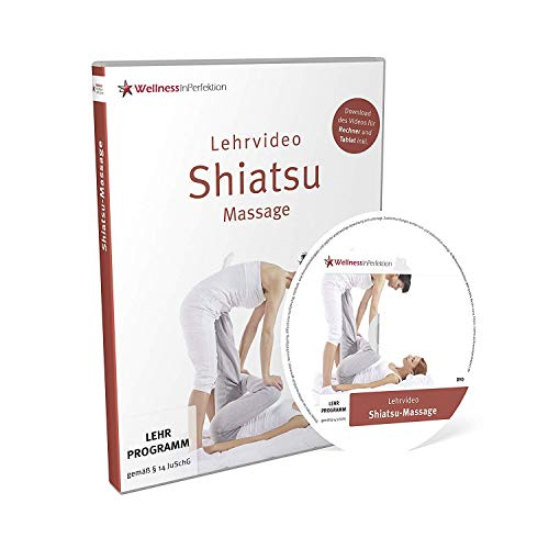 DVD Shiatsu-Massage (Lehrvideo) | Für Anfänger und Profis | Inkl. kostenloser Tablet-/Smartphone-Version zum Download