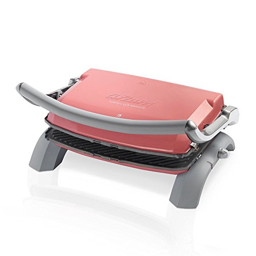 Arzum Tostcu Lux (Blue) Granite Grill and Sandwich Maker (Pink), Aluminium, 28 x 28 x 28 cm