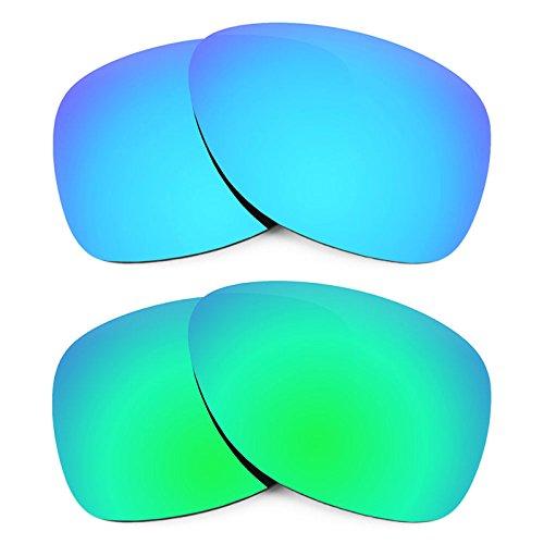 Revant Ersatzlinsen für Oakley Dispatch 2 Polarisiert 2 Paar Kombipack K006