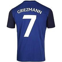 FFF–Camiseta oficial de la selección de Francia de fútbol– Antoine Griezmann –Talla infantil, Niño, azul, 10 años
