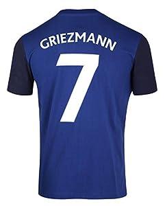 Equipe de FRANCE de football T-Shirt FFF - Antoine Griezmann - Collection Officielle Taille Adulte Homme XL