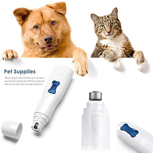 Generic Elektrische Haustier-Felltrimmer, elektrisch, für Haustiere, mit Pfotenabdrücken, Werkzeug-Kits für Hunde und Katzen