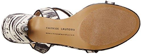 Chinese Laundry Ravish Toile Talons Black-White
