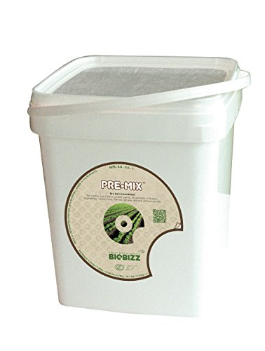 BioBizz Pre-Mix 5 L-Eimer, weiß, 19x20x21 cm, 05-225-005 - 20 Bio-dünger 20 20