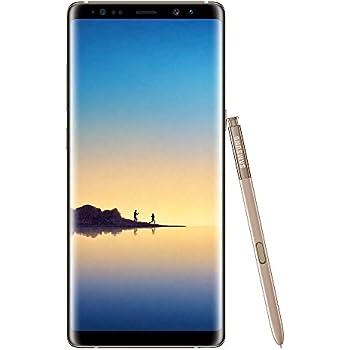 Samsung Galaxy Note8 Smartphone débloqué 4G (Ecran : 6,3 pouces - 64 Go - 6 Go RAM - Simple Nano-SIM - Android Nougat 7.11) Or Topaze