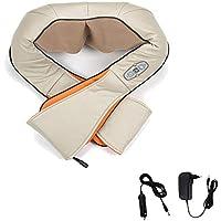 HENGDA® eléctrica hombro Masaje espalda Masaje Shiatsu Masaje Masaje cervical dispositivo, infrarrojos, 8cabezales de masaje giratorio