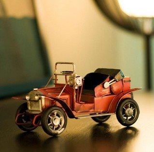 house deco Rein Metall Auto Modell Metall Schmuck retro nostalgie klassisch auto konvertierbar Continental Eisen Schmuck Sonderangebote Putter (Klassischer Putter)