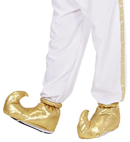 PARTY DISCOUNT Schuhe Alibaba Orient, Gold, - Fliegender Teppich Kostüm