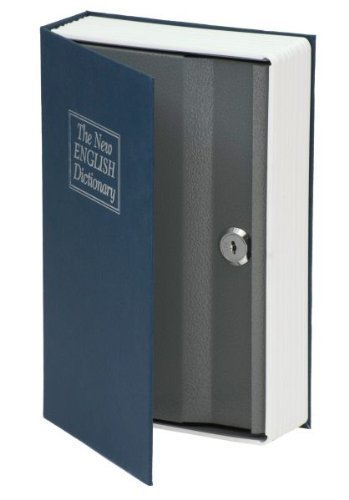 kh security Safe Buch, The New English Dictionary, blau, 370105