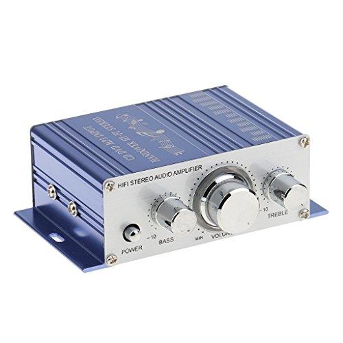 Gazechimp 12v HiFi Bluetooth Amplifier Auto KFZ MP3 Stereo Audio Stereo Endstufe Amp Verstärker