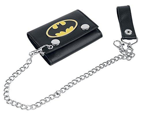 Batman Chain Wallet Cartera Negro