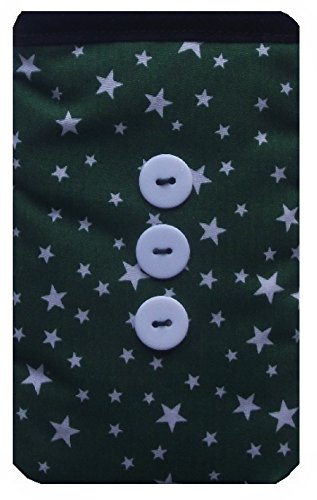 Green Star Print Apple iPod Socks - Apple iPod Nano