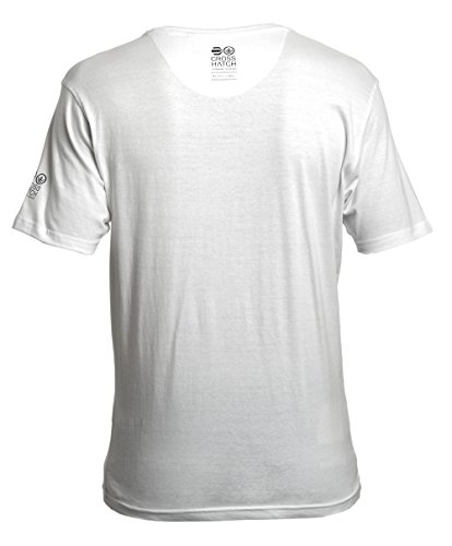 CrossHatch Herren T-Shirt Roshaun PKA Cross Hatch T Weiß