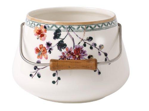 Villeroy & Boch Artesano Provencal Begrünung, Premium Porzellan Cache-Pot 1 Cache-Pot 3 Cachepot Floral