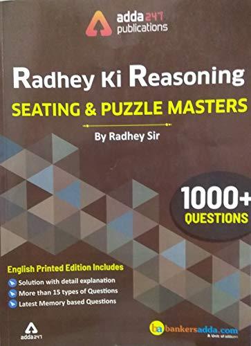 Radhey Ki Reasoning Seating & Puzzle Masters