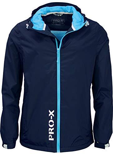 Sport Regenbekleidung Pro-x Elements Kinder Regenjacke Freddy 9920 Methyl Blue