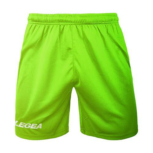 Legea Herren Taipei kuzre Hose, grün neon, L Neon-grüne Hose