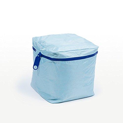 Pufmania Sitzsack Cube abnehmbar Modern Einheitsgröße Himmelblau